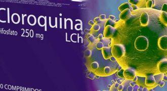 Cloroquina poderá ser usada em casos graves do coronavírus